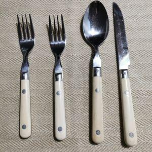 WF. Mardi Gras Cream Stainless Cutlery
